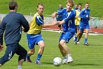 Úvodní trénink letní přípravy fotbalistů FK Mladá Boleslav