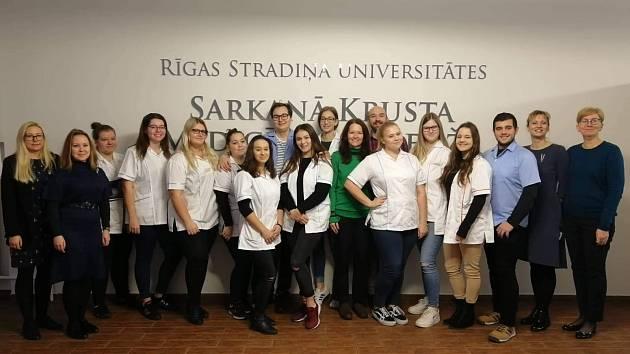 SZŠ a VOŠZ Mladá Boleslav - Erasmus + podporuje budoucí zdravotníky, Riga 2019