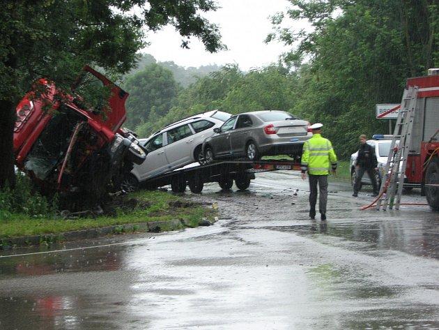 Nehoda v Brodcích je zatím jedinou letošní tragickou událostí na silnicích v okrese