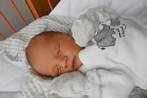 Miroslav Bureš se narodil 10. února, vážil 2,9 kg a měřil 49 cm. Maminka Denisa a tatínek Miroslav si ho odvezou domů do Bosně.