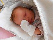 Kristýnka Frdlová se narodila 21. ledna, vážila 3,76 kg a měřila 53 cm. Maminka Petra a tatínek Luděk si ji odvezou domů do Dolního Slivna.