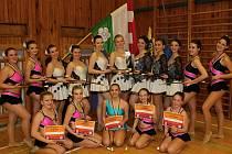 Juniorský twirlingový tým míří do Itálie.