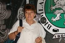 Kronikářka BK Mladá Boleslav Jana Bílková
