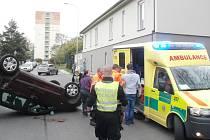 V Kollárově ulici došlo k dopravní nehodě