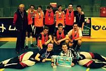 Florbalový tým osmiletého gymnázia z Mladé Boleslavi si zahraje Superfinále v O2 Areně