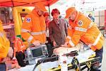 Den zdraví do Klaudiánovy nemocnice přilákal kolem čtyř stovek lidí