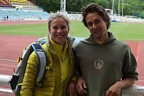 Eva Samková a Jakub Flejšar