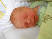 Václav Kubín se narodil 18. ledna, vážil 3,66 kg a 53 cm. S maminkou Klárou a tatínkem Václavem bude bydlet v obci Boseň, kde už se na něho těší sestřička Nelinka.