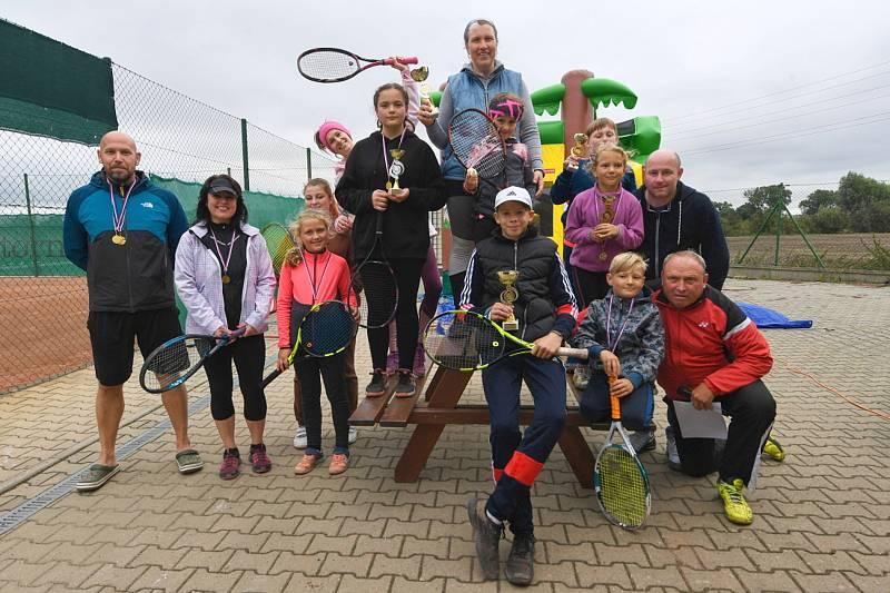 Ze sportovního víkendu pro děti v Kolomutech