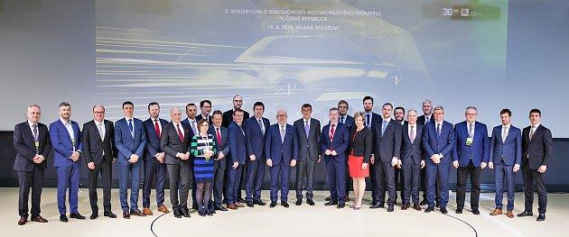 Ve Škoda Auto řešili odborníci budoucnost automobilového průmyslu.