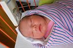 Anička Vránová se narodila 27. ledna, vážila 3,88 kg a měřila 52 cm. Maminka Marcela a tatínek František si ji odvezou domů do Chotětova, kde už se na ni těší bráška Matyášek.