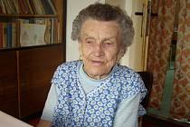 Marie Hloužková z Mnichova Hradiště si živě pamatuje válečné události