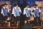 Tři mušketýři přijeli do Bělé.