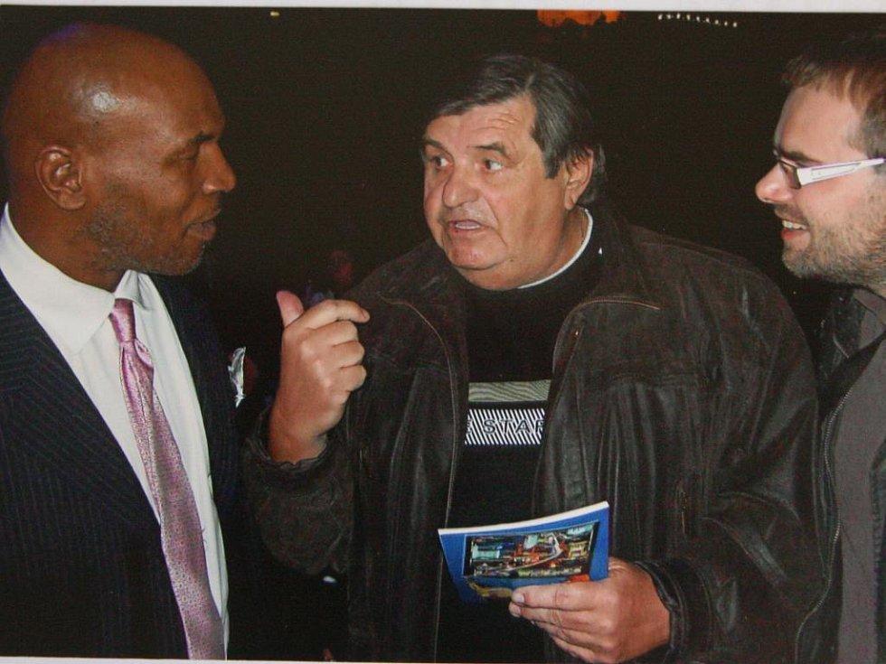Setkání Karla Králíčka s Mikem Tysonem