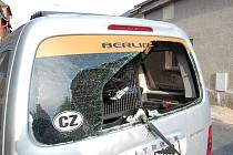 Vážná nehoda motorkáře v Kněžmostě.