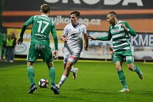 Fotbalisté Mladé Boleslavi porazili Bohemians 2:1.