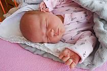 Klára Kovářová se narodila 20. srpna, vážila 3,52 kg a měřila 50 cm. S maminkou Veronikou a tatínkem Pavlem bude bydlet v Mladé Boleslavi, kde už se na ni těší sestřička Karolína.