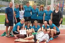 Bramborové medaile zbyly na hráčky Sokola Březno na poháru ve Stupně