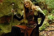 Jedním z koníčků Anety je i  historický šerm.