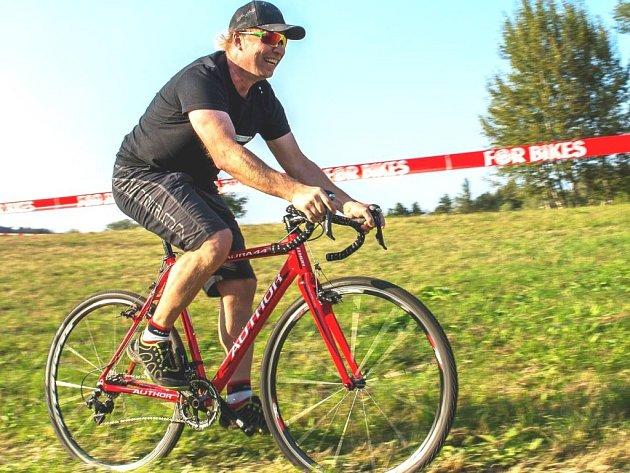 Josef Hladík, otec stejnojmenného mladoboleslavského bikera a cyklokrosaře.