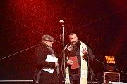 Rozsvěcení vánočního stromu se konalo první adventní neděli na Staroměstském náměstí.