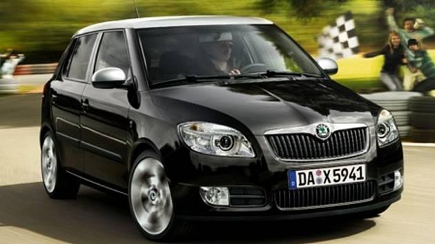 Škoda Fabia sportline.