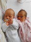 Kristýnka a Verunka Krejčíkovy se narodily 28. listopadu mamince Monice a tatínkovi Janovi z Horní Bukoviny.