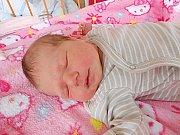 Tereza Vondráčková se narodila 20. dubna, vážila 3,05 kg a měřila 48 cm. S maminkou Klárou a tatínkem Václavem bude bydlet v Jizerním Vtelně.