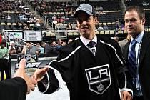 Tomáš Hyka na draftu NHL
