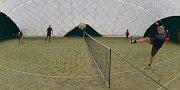 V Kolomutech u Mladé Boleslavi se konal povánoční nohejbalový turnaj. Tradiční.