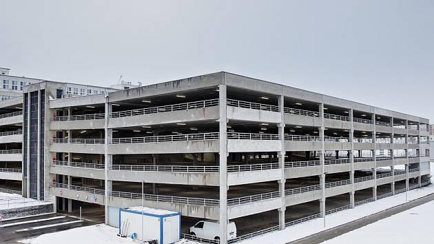 Nový parkovací dům v Mladé Boleslavi.