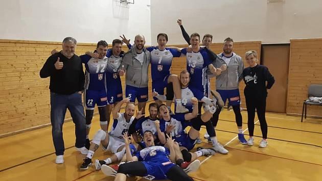 Volejbalisté Benátek postoupili do semifinále I. ligy