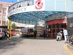 Nový Centrální příjem v Klaudiánově nemocnici v Mladé Boleslavi