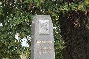 Na Olšině byla odhalena nová plastika Tomáše Garrigue Masaryka.
