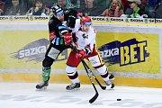 Hokej, Tipsport extraliga, BK Mladá Boleslav - Mountfield Hradec Králové.