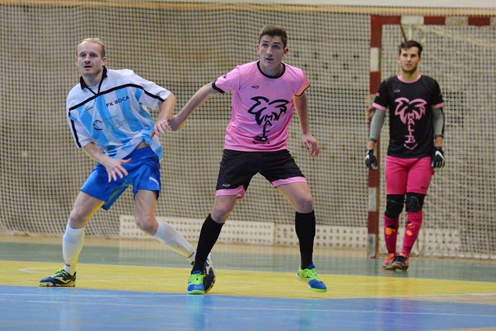II. liga západ: Malibu Mladá Boleslav - Boca Chotěboř.