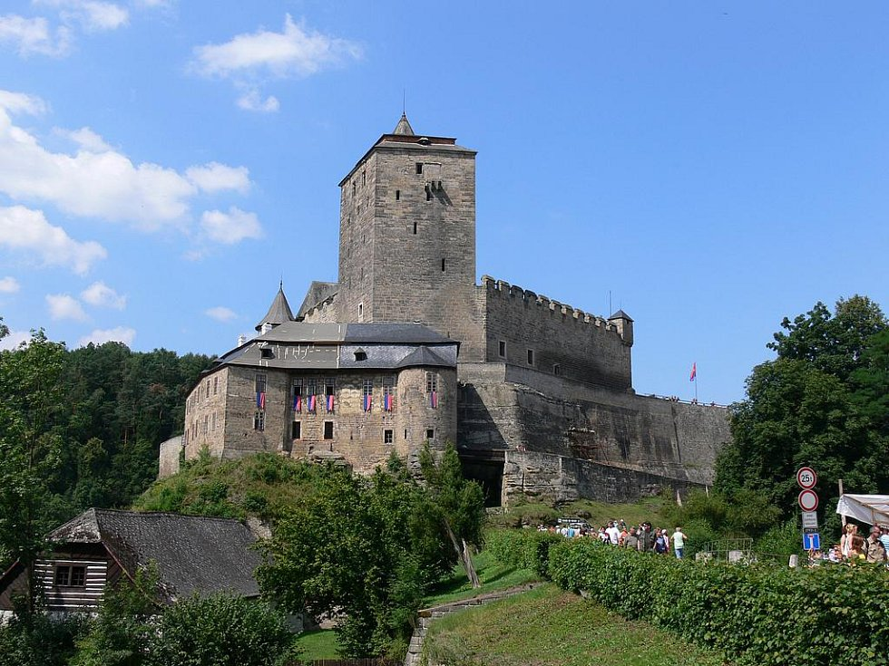Gotický hrad Kost je perlou Českého ráje.