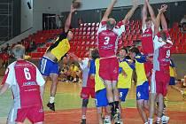 Překonat obranu vítěze turnaje Jičín B bylo pro boleslavské házenkáře obtížné.