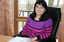 Nová starostka Luštěnic Magdalena Fišerová.