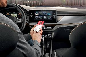 Aplikace Škoda Connect prošla modernizací.