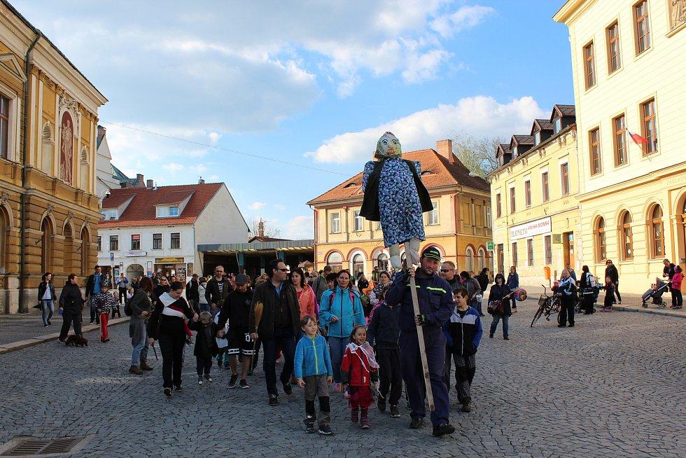 A čarodějnice neutekla v roce 2017 ani v Mnichově Hradišti.