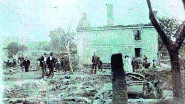 NÁSLEDKY velkého požáru v Katusicích
