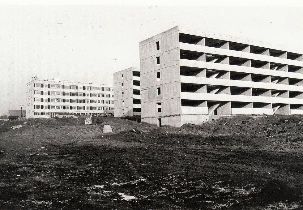 Výstavba hradišťského sídliště