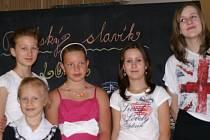 Bělské děti na prvním ročníku pěvecké soutěže Bělský slavík