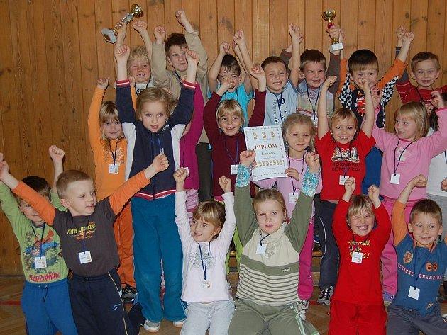 Nadšení dětí ze soutěže boleslavských mateřských škol bylo zřejmé.