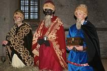 Průvod Tří králů Mladou Boleslaví.