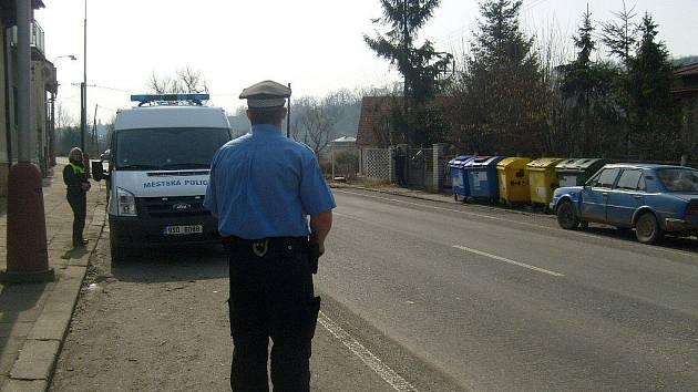 Městská policie měří v Boleslavi
