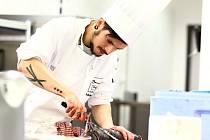 Ondřej Molina, šéfkuchař z mladoboleslavské restaurace Černá růže.