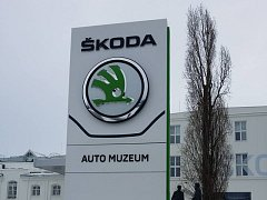 Škoda Muzeum v Mladé Boleslavi.