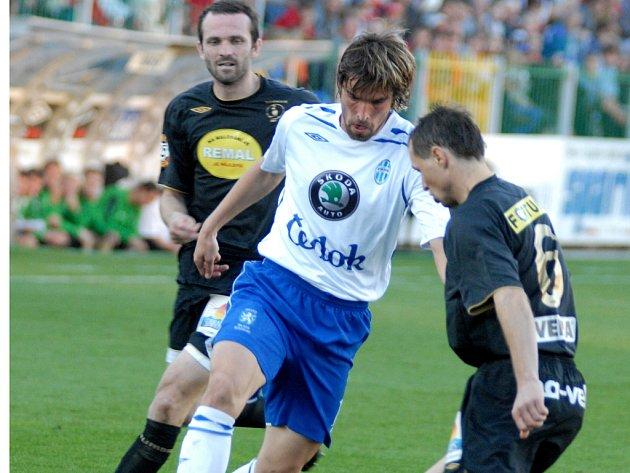 Boleslav uhrála ve Vršovicích cenný bod.